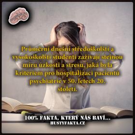 Studium (v dnešní době) není žádnej relax!
