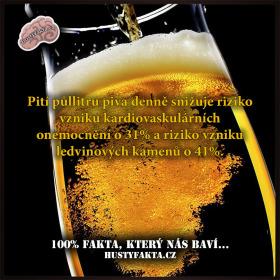 Jedno pivo denně pro zdraví…