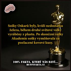 Plastový Oskar