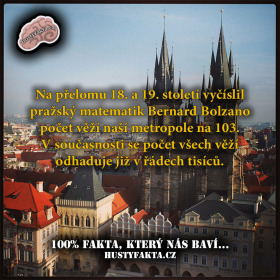 """Kde se vzalo označení ,,Stověžatá Praha""""?"""